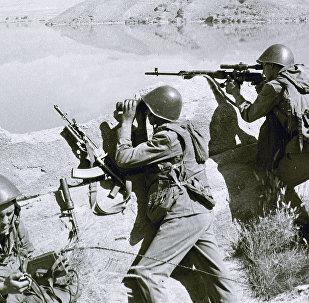 القوة المظلية السوفياتية في جبال أفغانستان