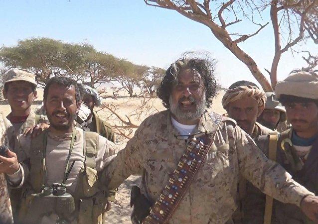 اللواء أمين العكيمي محافظ الجوف اليمنية
