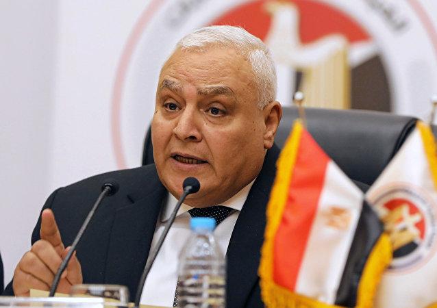 لاشين إبراهيم رئيس الهيئة الوطنية للانتخابات المصرية