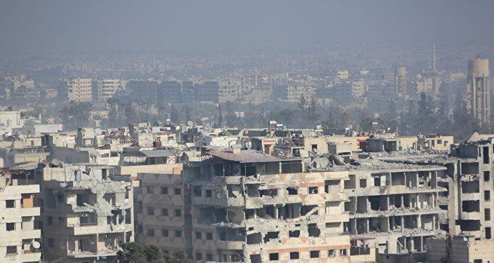 الجيش السوري شرق دمشق