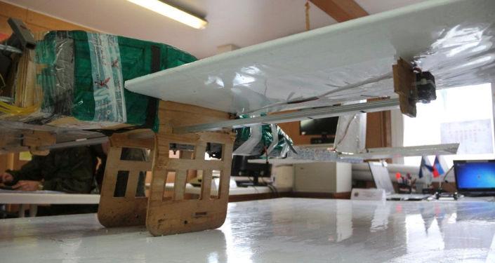 طائرة بدون طيار التي حاولت استهداف قاعدة الحميميم