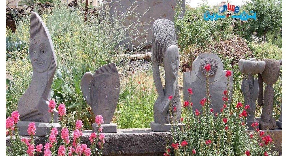 أعمال النحّات السوري معروف شقير