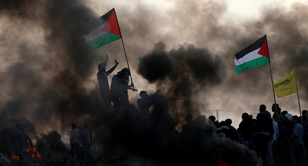 مظاهرات فلسطينية ضد قرار ترامب الاعتراف بالقدس، 12 يناير/ كانون الثاني