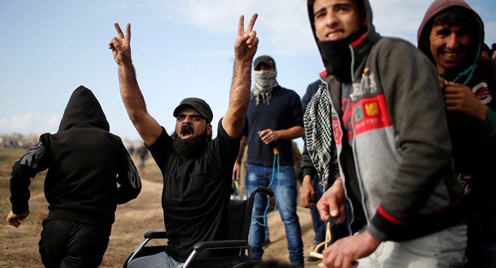 الفلسطيني المقعد أبو ثريا