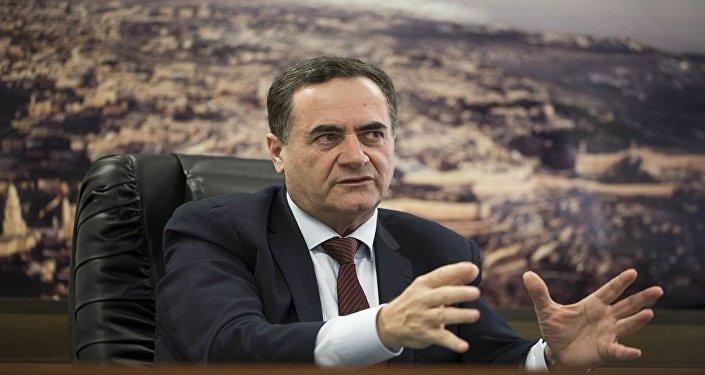 وزير الخارجية الإسرائيلي يسرائيل كاتس