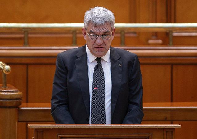 رئيس وزراء رومانيا المستقيل