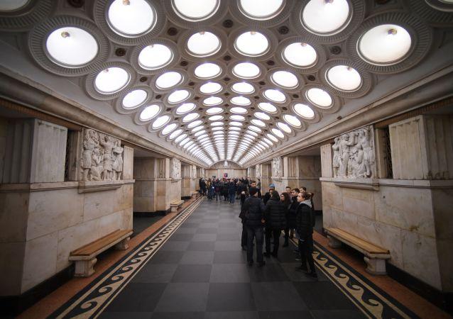 محطة مترو إليكتروزوفودسكايا في موسكو