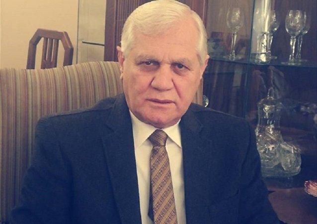 الباحث في مركز دمشق للأبحاث والدراسات مداد الدكتور تركي الحسن