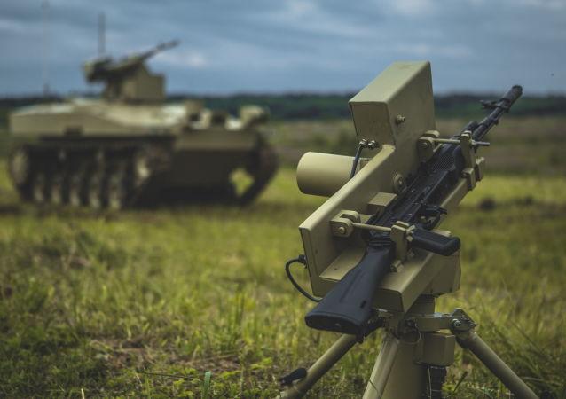 الروبوت الحربي الروسي سوراتنيك