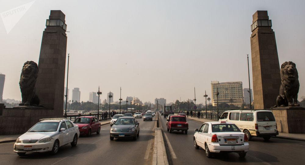 جسر قصر النيل، القاهرة، مصر