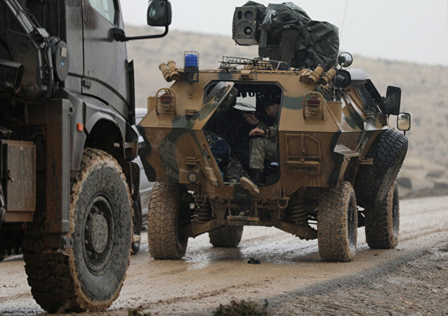 قوات تركية في عفرين
