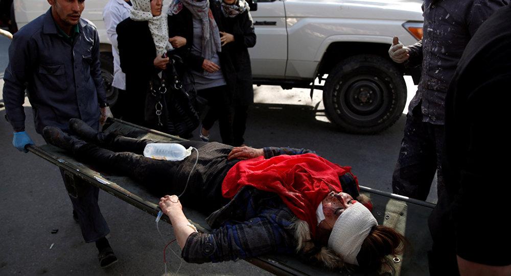 ضحايا تفجير كابول