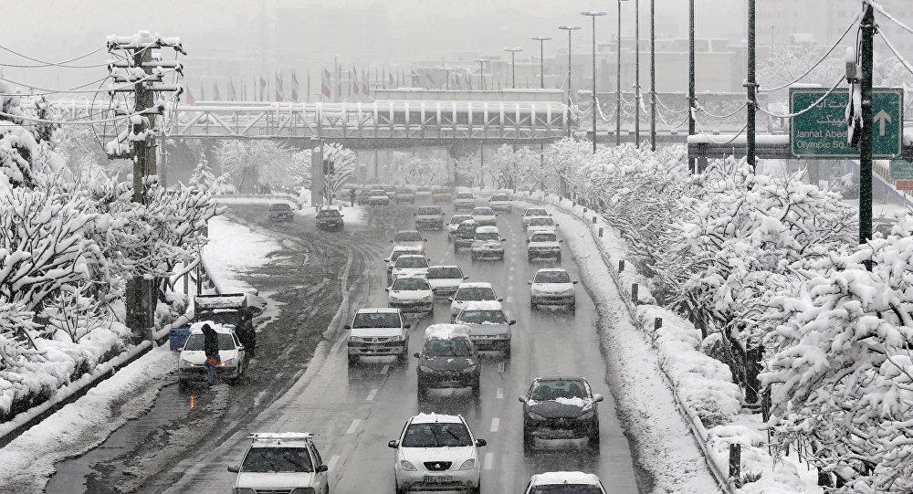 الثلوج في إيران