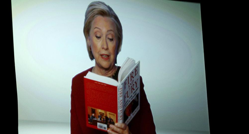 هيلاري كلينتون خلال حفل توزيع جوائز غرامي
