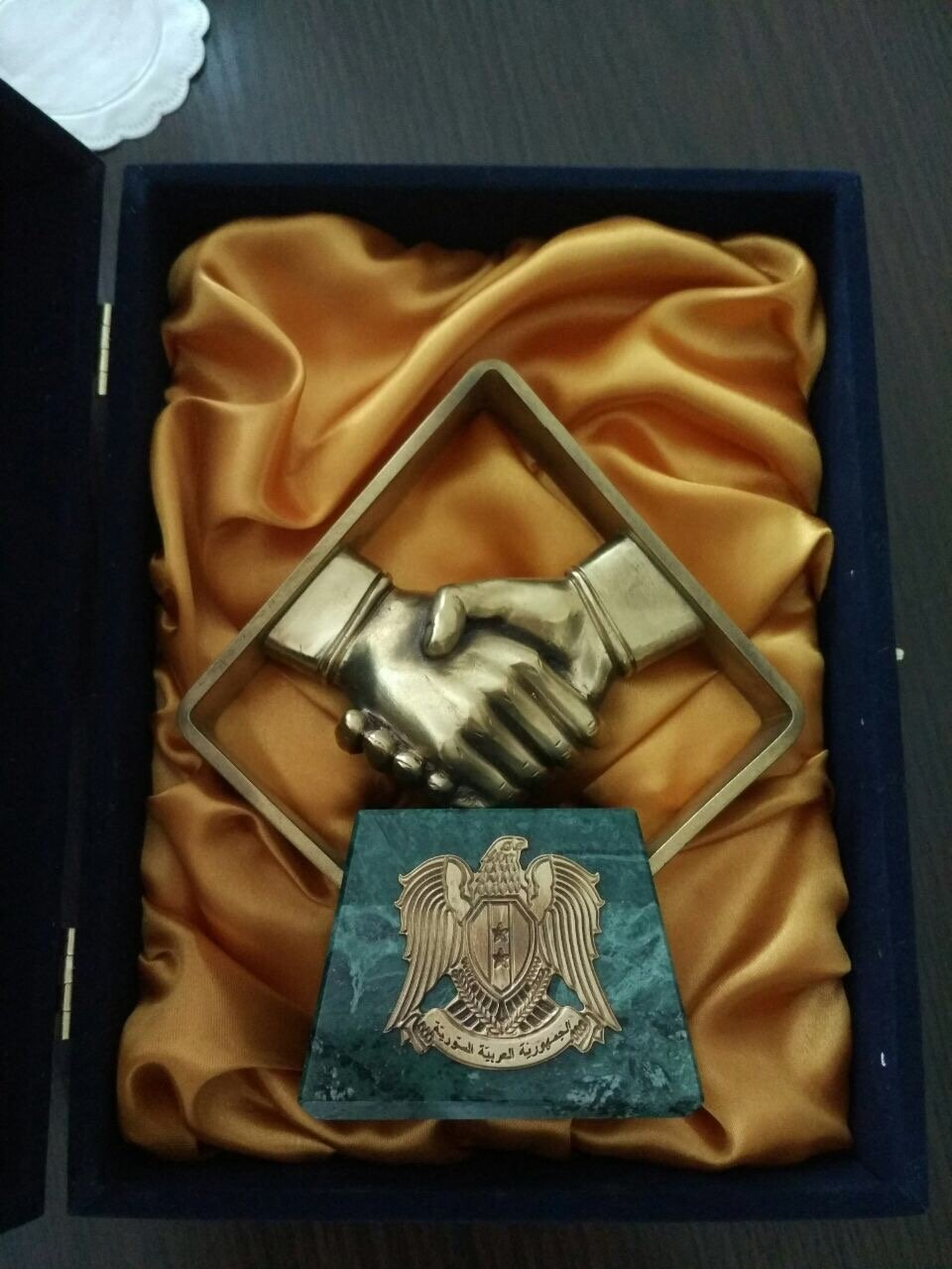 رمز تذكاري لمشاركي مؤتمر الحوار الوطني السوري في سوتشي