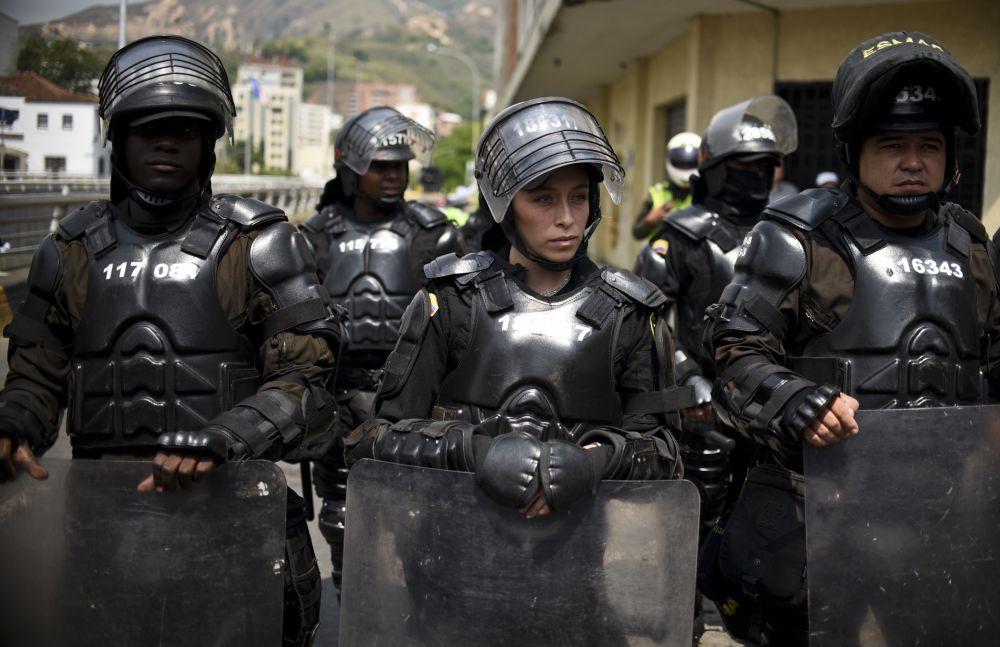 شرطية كولومبية في كالي