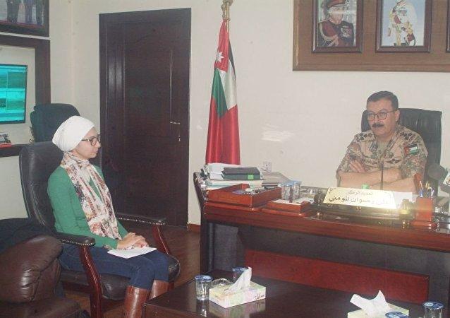 مدير أمن الحدود الأردنية