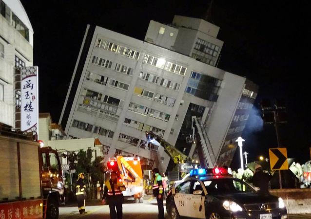 تداعيات زلزال قوي في تايوان، 7 فبراير/ شباط 2018