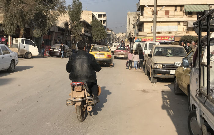 انفجار كبير يهز عفرين السورية (فيديو)