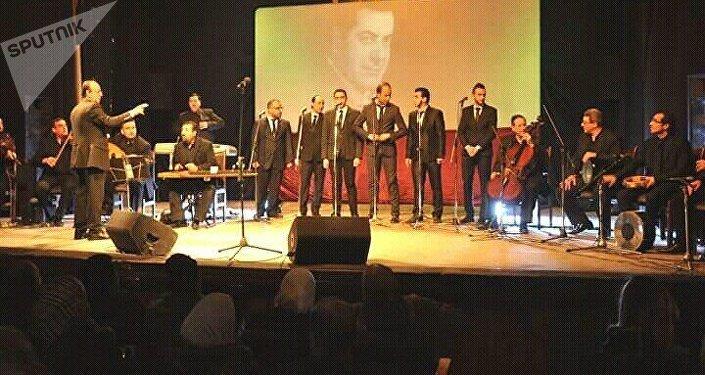 تحية إلى الموسيقار فريد الأطرش من حلب