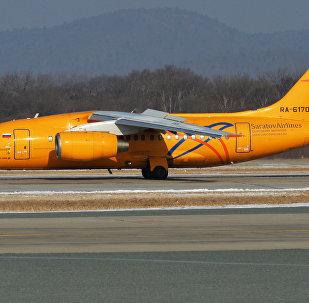 طائرة إن-148 التابعة للخطوط الجوية ساراتوف