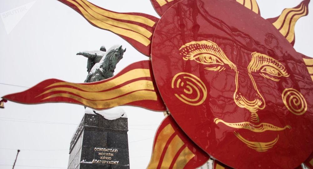 بدء مهرجان ماسلينيتسا في أنحاء موسكو