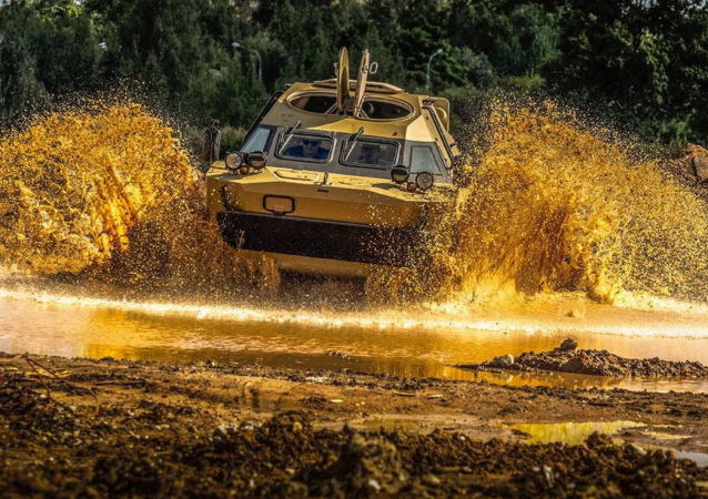 عربة الدوريات بي إر دي إم-2