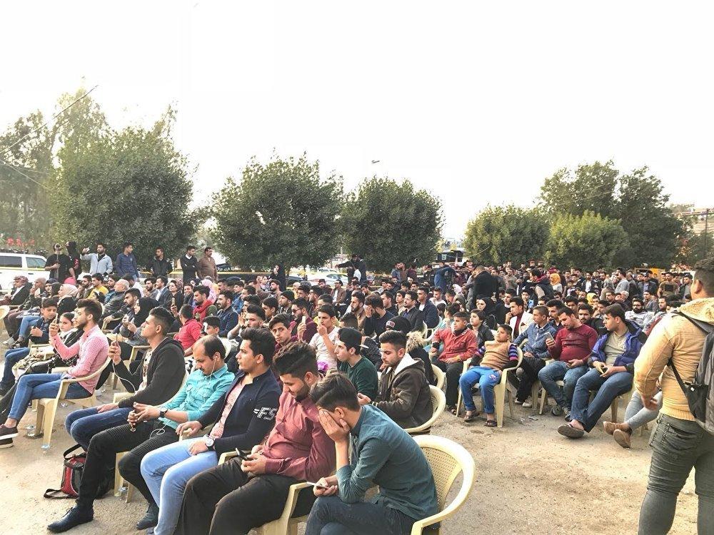 الحفل الموسيقي الأول من نوعه الذي أقامه فريق ناشط عبر موقع التواصل الاجتماعي في محافظة ديالي