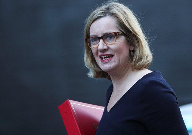 وزيرة الداخلية البريطانية