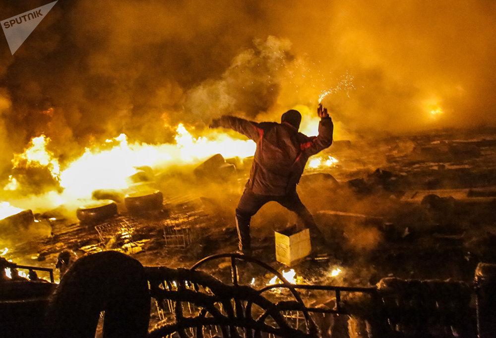 أعمال الشغب في كييف