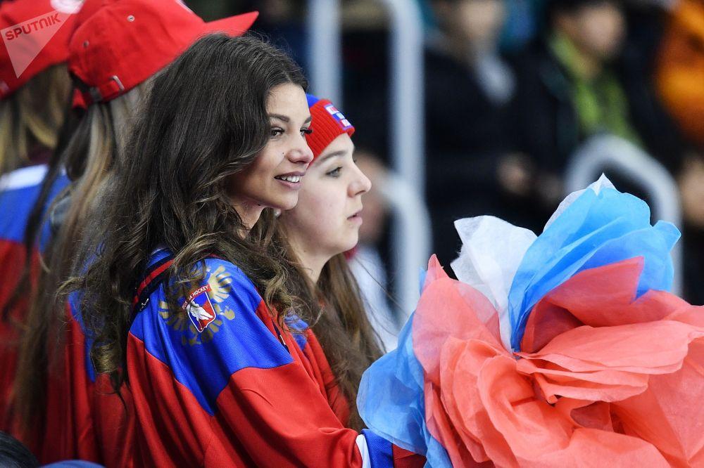 مشجعات من روسيا