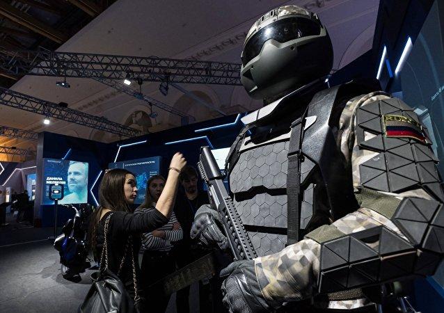 بزة جندي المستقبل