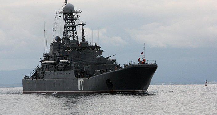 سفينة بيريسفيت التابعة لأسطول المحيط الهادئ
