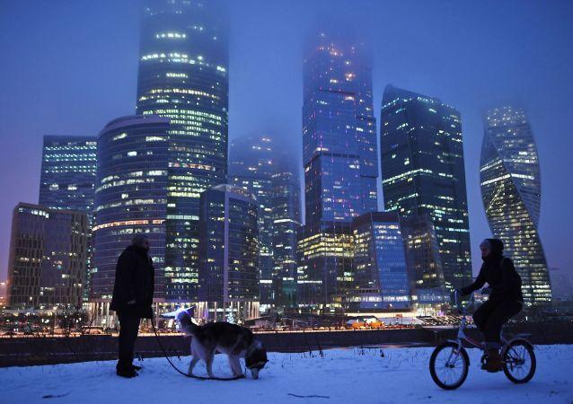 مجمع موسكو-سيتي التجاري في موسكو