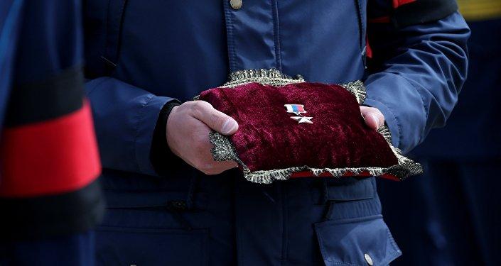 وسام بطل روسيا