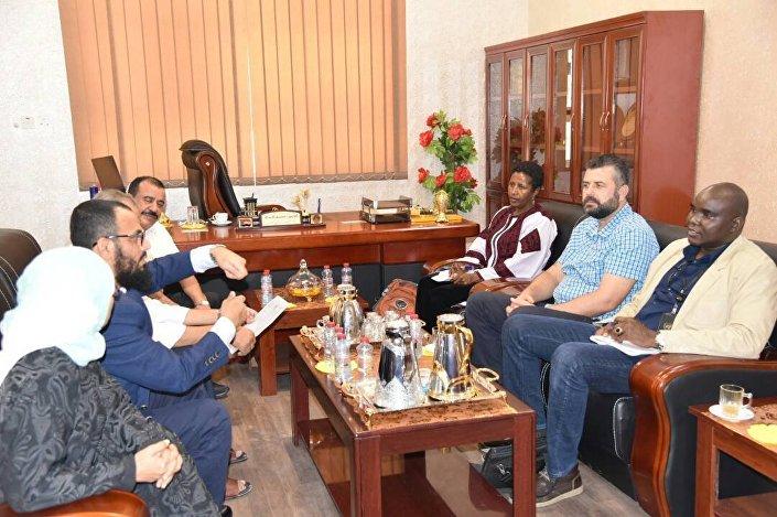 أعضاء المجلس الانتقالي الجنوبي مع الوفد الأممي