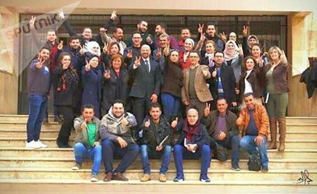 اتحاد الصحفيين في سورية يختتم دورة تدريبية في حلب