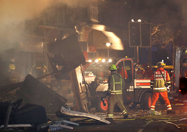 انفجار ليستر، بريطانيا