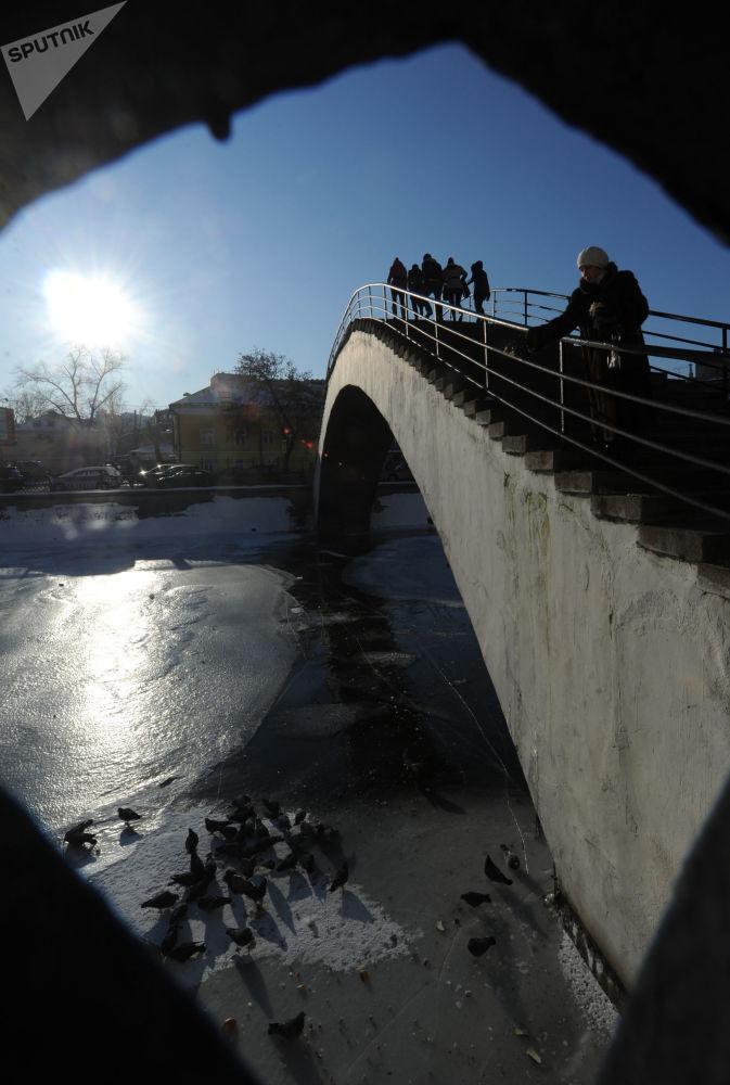 جسر فوق نهر موسكو