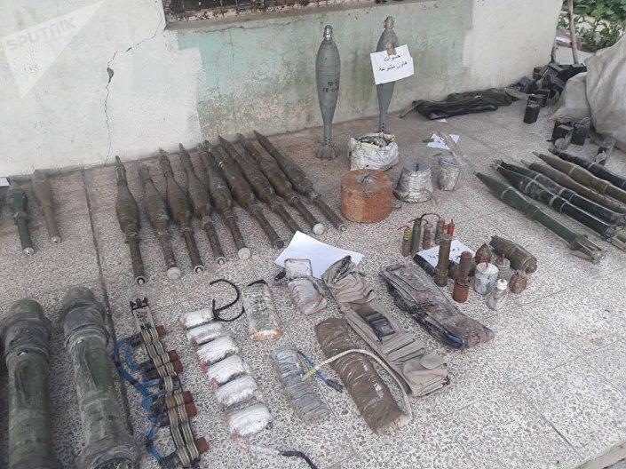 مواد خطرة بحوزة داعش