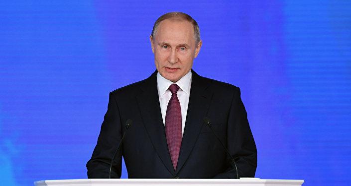 الرئيس فلاديمير بوتين، في 1 مارس/ آذار، يوجه رسالته السنوية إلى الجمعية الفدرالية، حيث سوف يوجهها في قاعة ضخمة (مانيج) تضم عددا كبيرا من الضيوف