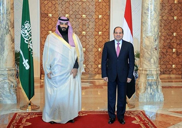 الرئيس السيسي يستقبل ولي العهد السعودي محمد بن سلمان