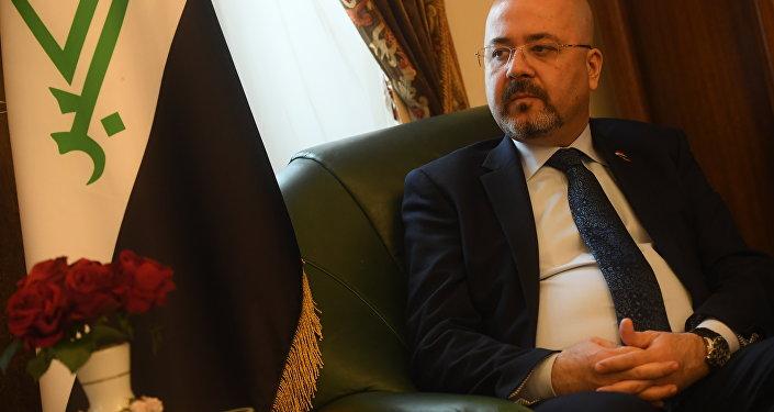 سفير جمهوية العراق حاليا في روسيا الاتحادية حيدر منصور هادي العذاري