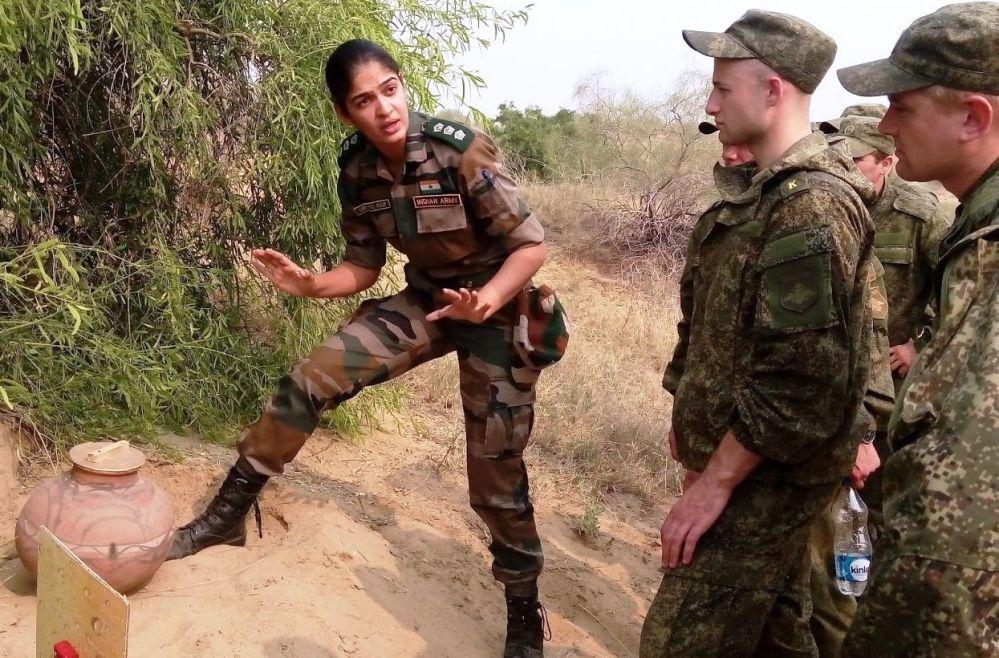 ضابطة في الجيش الهندي، 2015