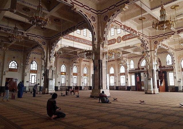 مسجد الميناء الكبير في مدينة الغردقة بمحافظة البحر الأحمر