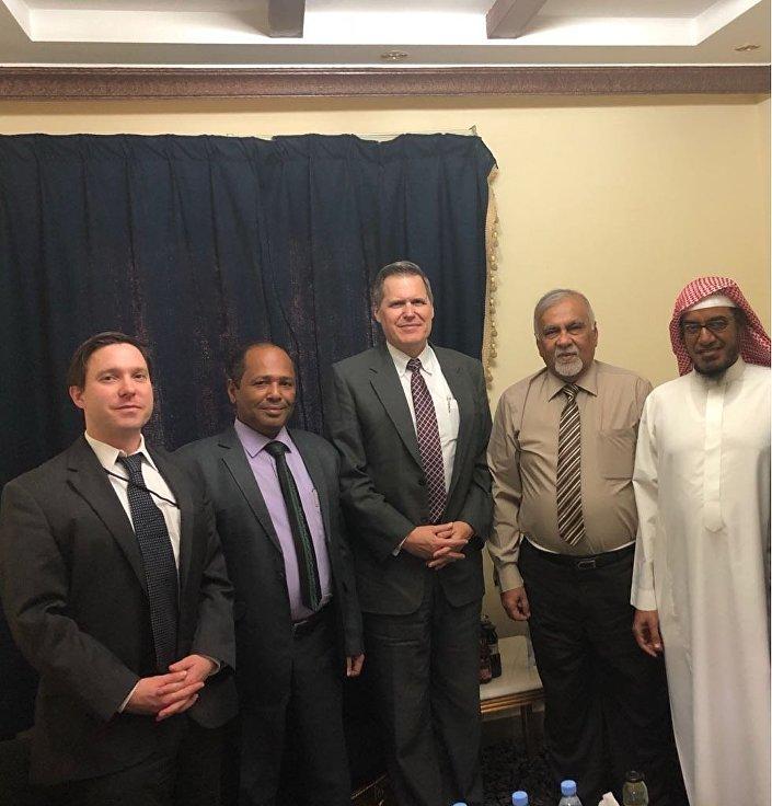 قادة الحراك الجنوبي مع السفير الأمريكي
