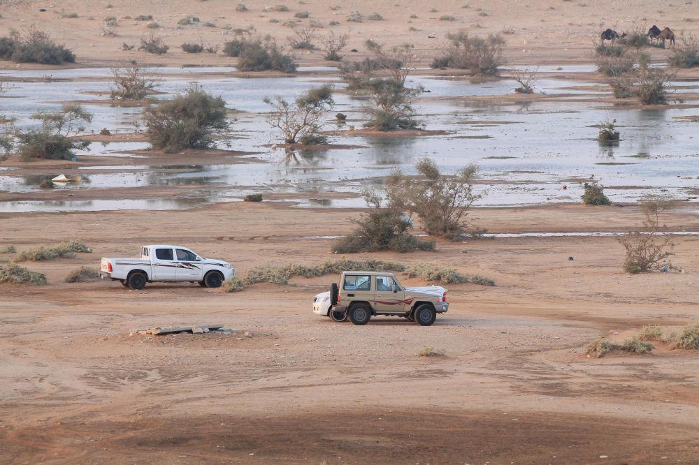 موقع حفر الباطن. وتقع مدينة حفر الباطن في الجهة الشمالية الشرقية من المملكة العربية السعودية