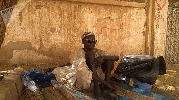 مشرد جنوب سوداني في الخرطوم