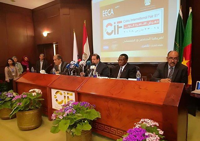 السفير الكاميروني في القاهرة