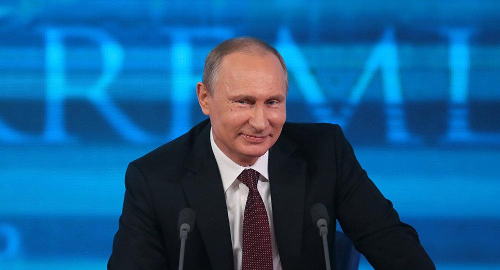 المرشح للرئاسة الروسية فلاديمير بوتين